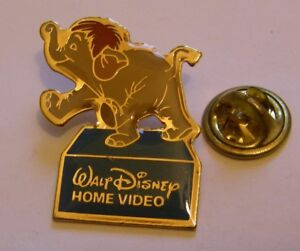THE-JUNGLE-BOOK-COLONEL-HATHI-the-ELEPHANT-vintage-pin-badge-Disney-Home-Video