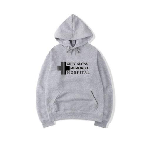Grey/'s Grey Sloan Memorial Hospital Hooded Sweatshirt T-Shirt Hoodie Pullover