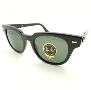 c8f50388c29 Ray Ban RB 2168 901 31 Black Green Sunglasses New Authentic ...