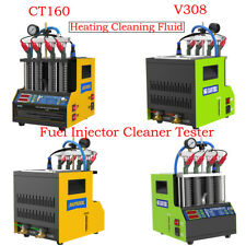 Fuel Injector Ultrasonic Cleaning Machine Car Oil Nozzle Heating Cleaner Tester