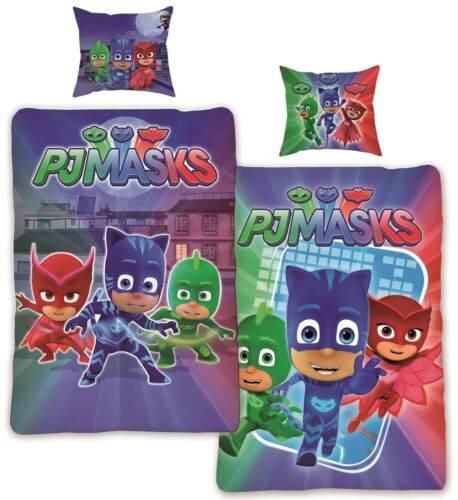 PJ Masks pyjama héros linge de lit Tournant Linge De Lit bettware Literie Set 135x200