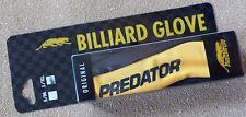 GENUINE Predator Pool Cue Glove Choice Sm-Med / Lg-XL Authorized Predator Dealer