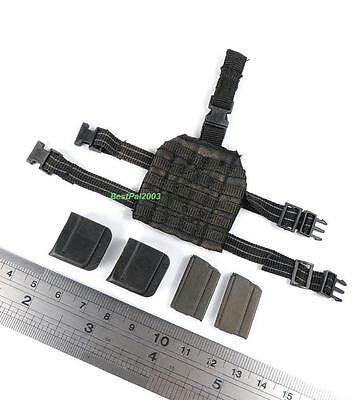 1/6 Hot Toys US 10th Mountain Division Sniper Drop Leg Panel + Mags + Pouches