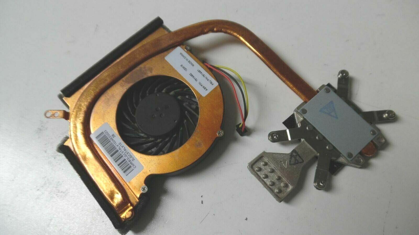 Original CPU Heatsink w/Cooling Fan for Lenovo ThinkPad Edge 15 - 75Y4481