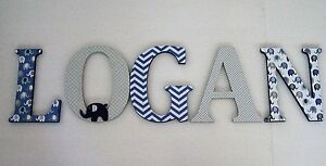 Wood Letters Nursery Decor Any Name