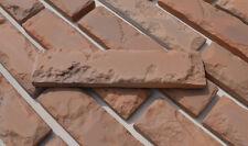 Concrete molds ANTIQUE BRICK VENEER plaster wall brick tiles Set 24 pcs W08