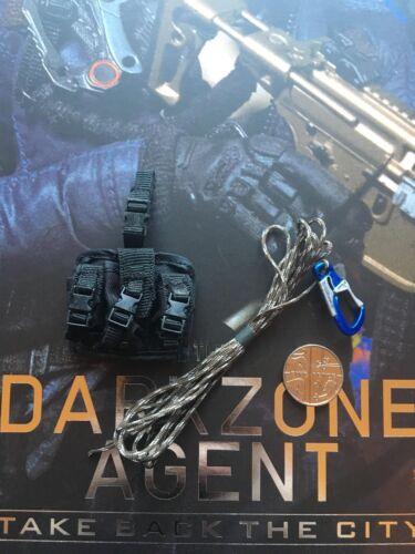 Virtual Toys The Dark Zone agent Tracy R Ver Drop Leg /& Corde lâche échelle 1//6th