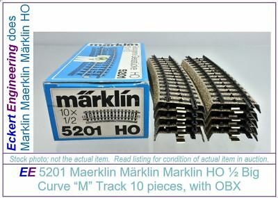 "EE 5109 EXC Marklin HO /""M/"" Track Stubby Straight 5109EXC 5 RR ties 33.5mm"
