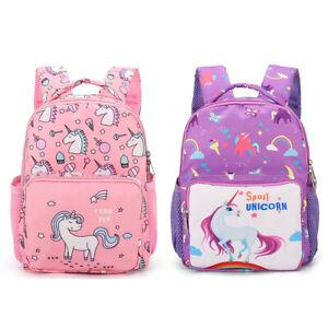 Lovely-Kids-Backpack-Unicorn-Girls-School-Nursery-Bag-Rucksack-uk