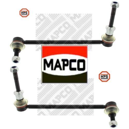 2x Koppelstange Stabilisator MAPCO 52653HPS 52654HPS verstärkt 2 Pendelstützen