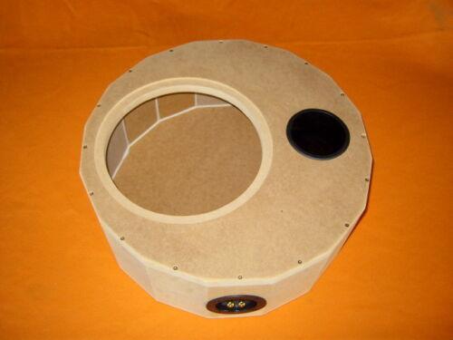 MDF-roh para 30cm subwoofer tamaño xxl//2 Rueda de repuesto carcasa