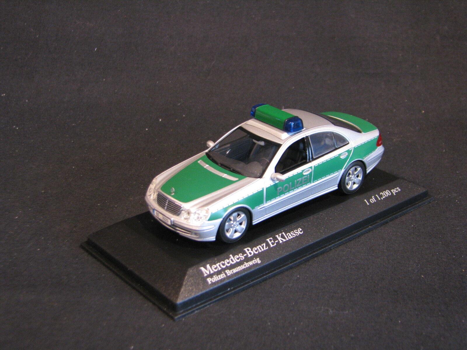 Minichamps Mercedes-Benz E-Klasse 2004 1 43 Polizei brownschweig (GER) (JS)
