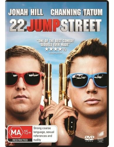 1 of 1 - 22 Jump Street - DVD LIKE NEW FREE POSTAGE AUS REGION 4 *UV CODE NOT INCLUDED*