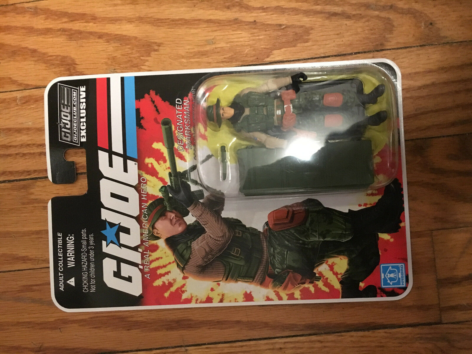 GI Joe Cross Hair Marksman Collector's Club Exclusive Subscription FSS 6.0 MOSC