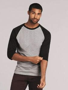 Gildan-Heavy-Cotton-Three-Quarter-Raglan-Sleeve-Baseball-T-Shirt-5700