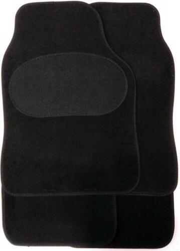Set Of 4 Black Mats Non Slip Carpet For Car Van Protectors For Ford