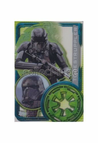 Topps Star Wars-Rogue one 198-todestruppler-semitransparente