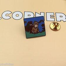 Pin's Folies *** Corner signé N° 251 Tintin Snowy Kuifje Tim und Struppi