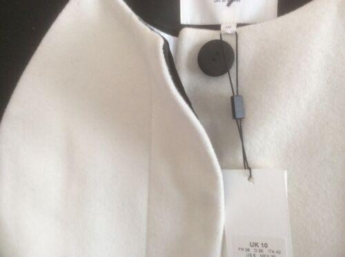 Demoiselle Ivoire Noir Femme Manteau Était 275 Robe Taille £ 10 En Penhurst qtOSCw1