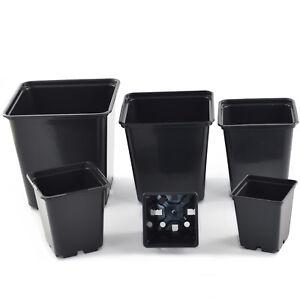 Vierkanttopf-Blumentopf-Pflanzcontainer-Pflanztopf-Eckig-0-25l-2-30l-Pflanztopf