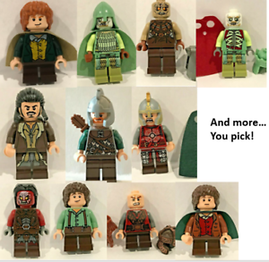 Authentic LEGO The Lord of the Rings//The Hobbit Minifigures YOU PICK