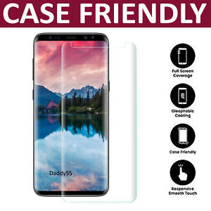 For Samsung Galaxy S9 3D Full Curved Tempered Glass LCD Screen Protector Clear 4693138332110
