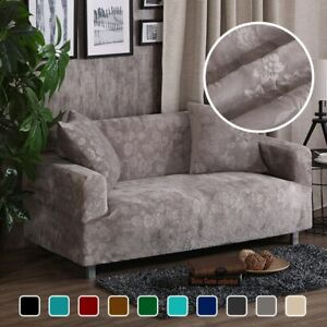 Brilliant Details About Jacquard Thick Velvet Sofa Covers Universal Stretch Elastic Couch Slipcovers Home Interior And Landscaping Ponolsignezvosmurscom