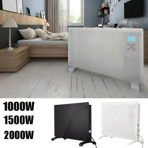 Portable-Glass-Panel-Convection-Heater-1000W-2000W-Wall-Mounted-Free-Standing