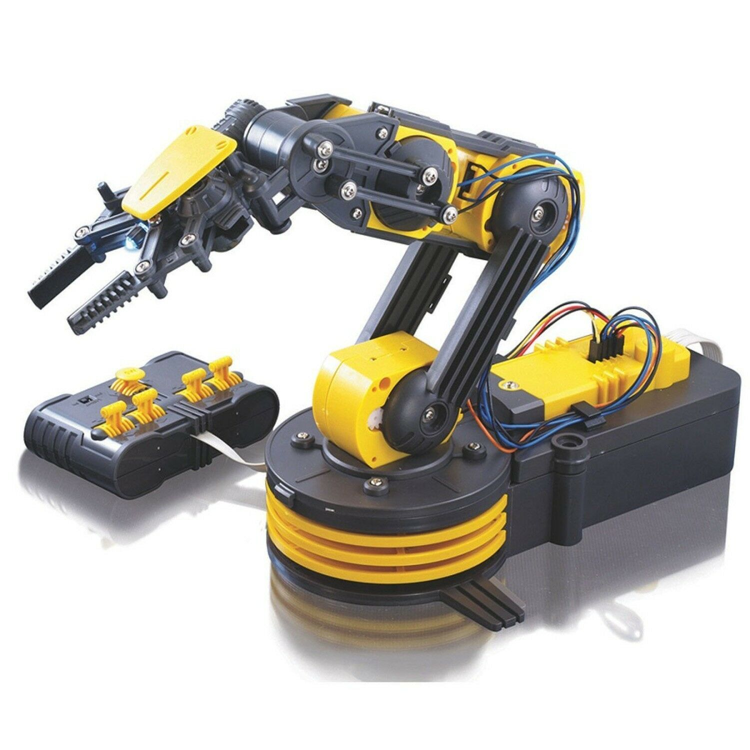 Robotic Arm Mechanical Robot Claw Clamp School Science Science Science Project Kit Kids Toy fa5481