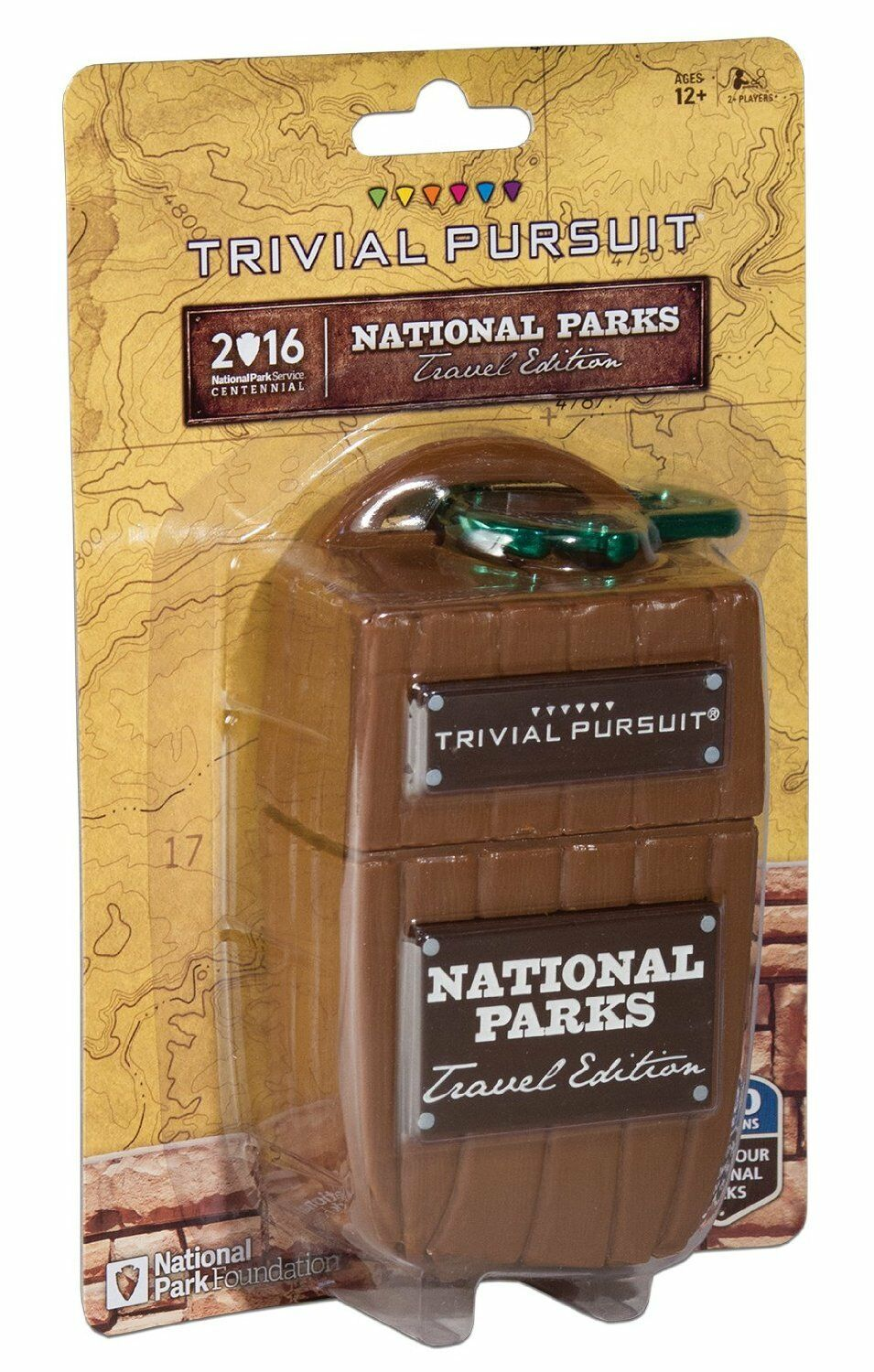 Trivial Pursuit National Game Parks Board Game National e47a69