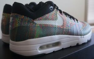71a37574f46a Nike Air Max 1 Flyknit id Multicolor 11 NIKEiD multi color 940379 ...