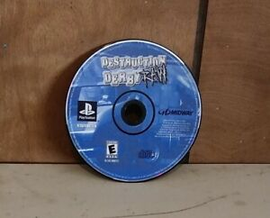 Destruction Derby Raw Sony PlayStation 1  disc only Tested