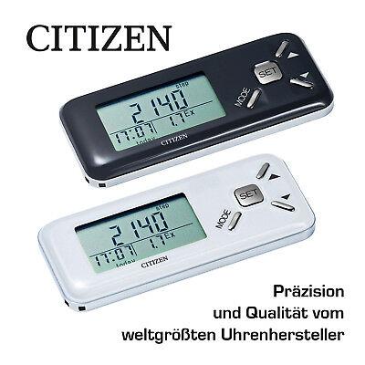 GemäßIgt Schrittzähler Citizen Tw-600 Pärchenpaket Schwarz & Weiß - Die Geschenkidee !!!