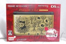 Nintendo 3DS LL Pokemon Y Pack  Premium GOLD Limited console system JAPAN not XL