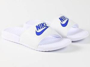 low cost 0cf72 7f46f Image is loading Nike-Benassi-JDI-Men-039-s-Slide-343880-
