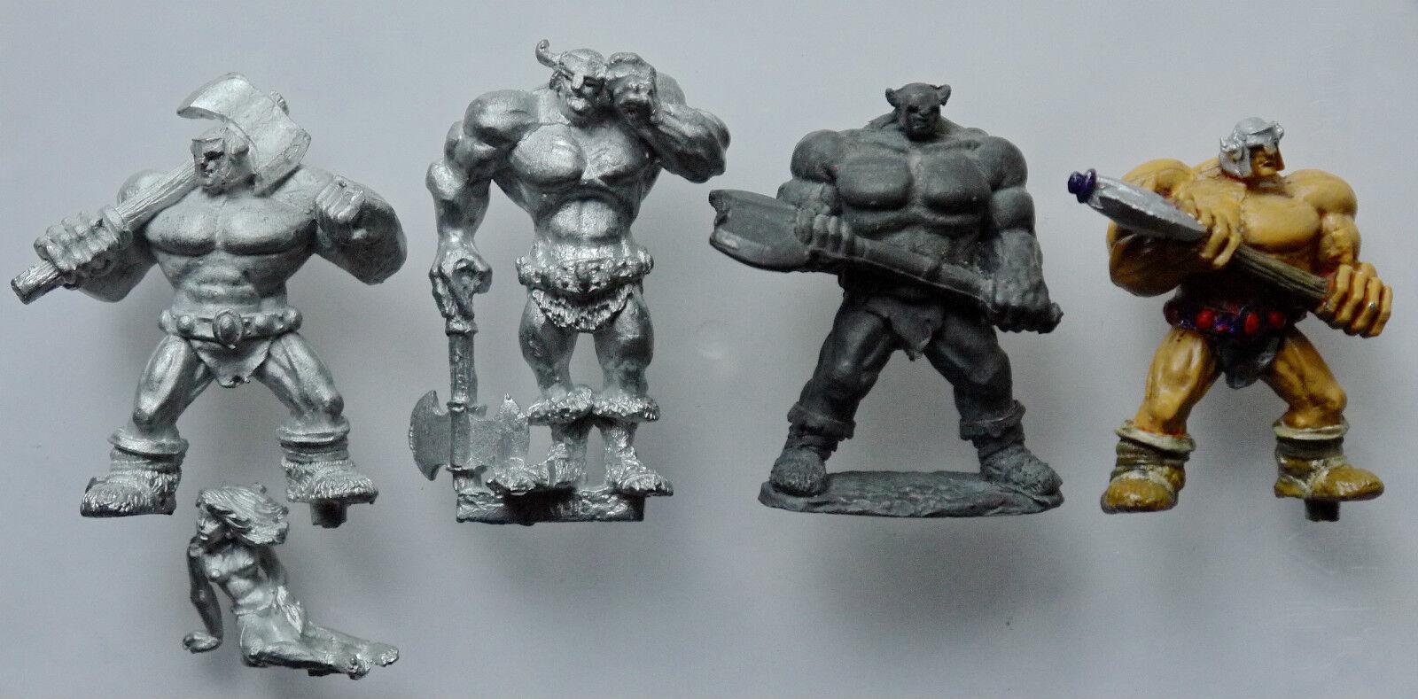 Citadel GW Warhammer Limited Edition THRUD Rare Pin Head Barbarian   Blood Bowl