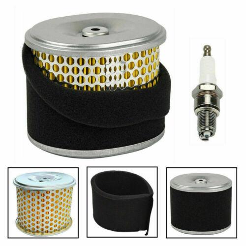 New Air Filter Element /&Spark Plug For Honda GX340 GX390 11HP 13HP 17210-ZE3-010