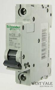 Schneider SQO MCB 10 Amp Type B Single Pole 10A Breaker Square D B10 SQO110EB6