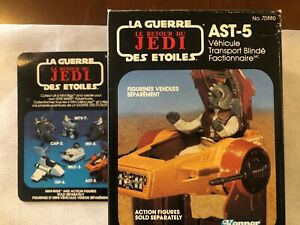 Star Wars ROTJ  AST-5 Vehicle Kenner 1983 MIB RARE dual-language box
