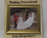 Dollhouse Royal Wedding Processional 9970gv Framed Jacqueline's Miniature 1:12