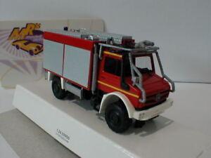 Busch-51053-Mercedes-Unimog-u5023-034-bomberos-034-en-rojo-plata-1-87-nuevo