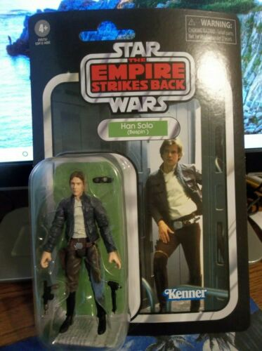 """STAR WARS VINTAGE Empire Strikes Back Han Solo Bespin VC50 /""""Brand New/"""" CASE Fresh!!!"""