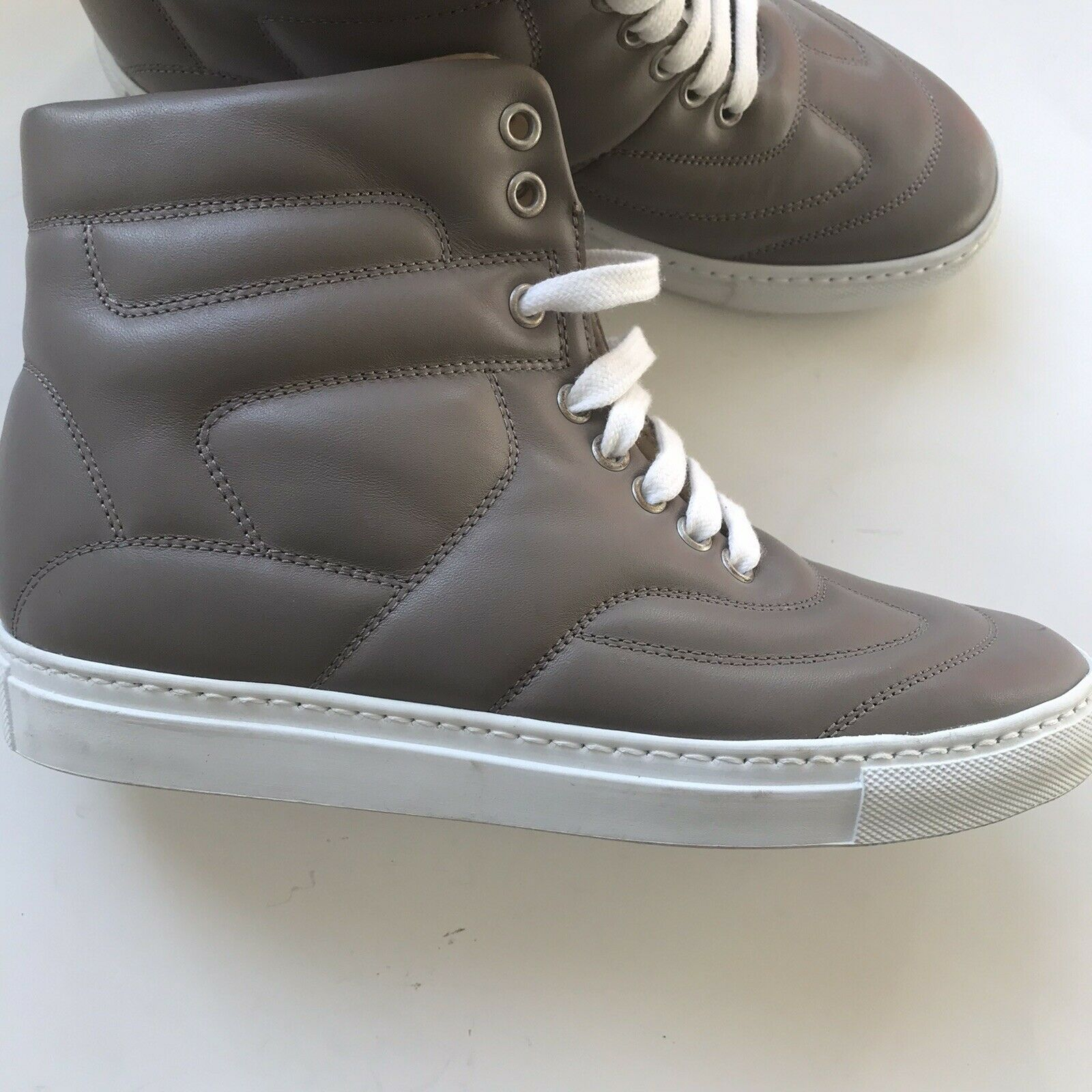 MM6 Martin Margiela Woman's Leather Sneakers Shoe… - image 2