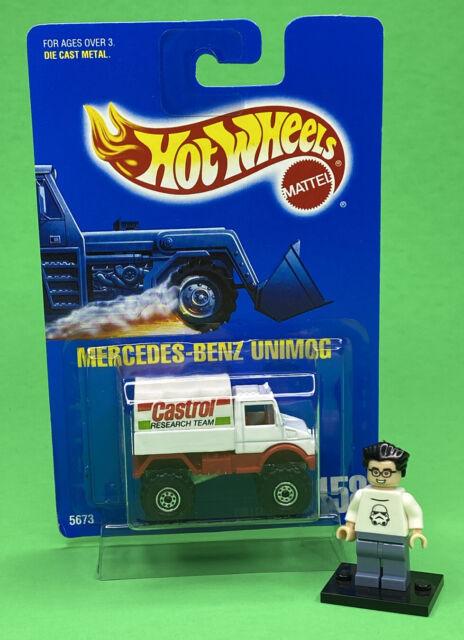 Hot Wheels 1991 Mercedes-Benz Unimog Castrol Team Truck ...