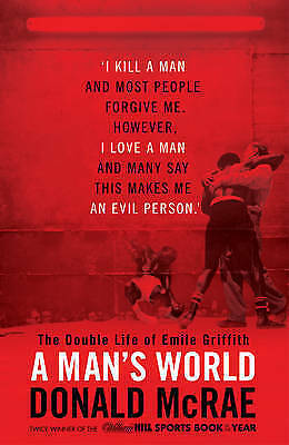 """1 of 1 - """"AS NEW"""" McRae, Donald, A Man's World: The Double Life of Emile Griffith, Book"""