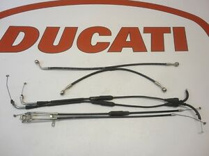 DUCATI-BRAKE-LINES-THROTTLE-EXHAUST-CABLES-1098-1098R-65620031B