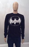Primark Mens Dc Comics Batman Logo Jumper Sweatshirt