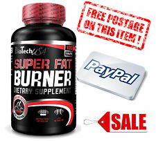 BioTech USA NEW SUPER Fat Burner 120 Tablets / Weight Loss Diet Slimming Therm