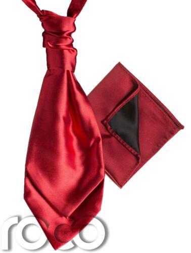 RAGAZZI IN RASO MATRIMONIO Increspato Cravatta Cravatta con hankys Cravatta per ragazzi ragazzi CRAVATTE