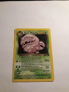 Dark-Weezing-14-82-Team-Rocket-Set-Pokemon-WOTC-Card-Holo-Foil-Rare-NM-2000